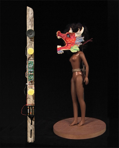 The Afro Asian Action Figure Meets the Juju Stick, 2006